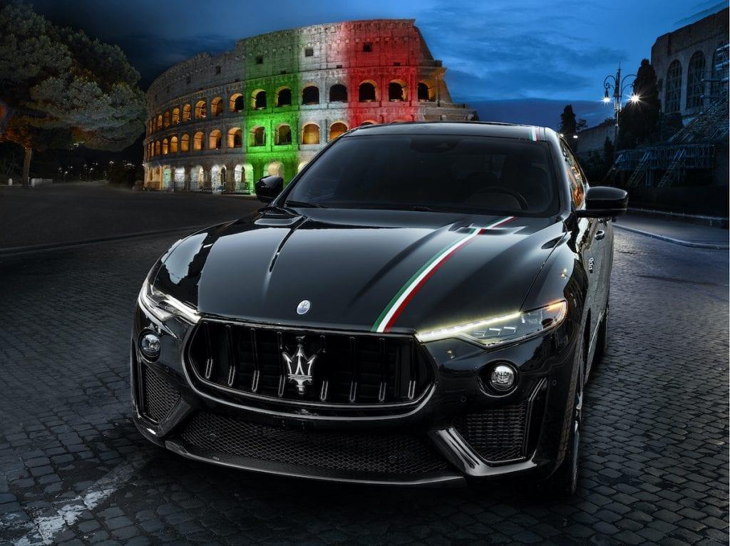 MASERATI and the Italian Tricolor.