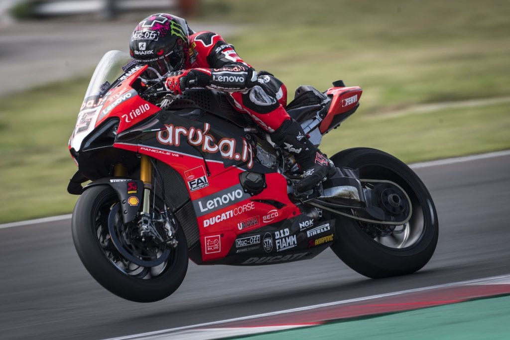 Ducati Panigale V4 R Scott Redding (Misano Test)