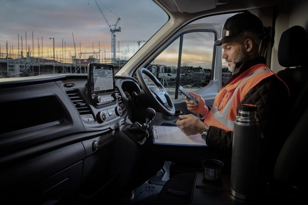 FORD boosts connected commercial vehicles