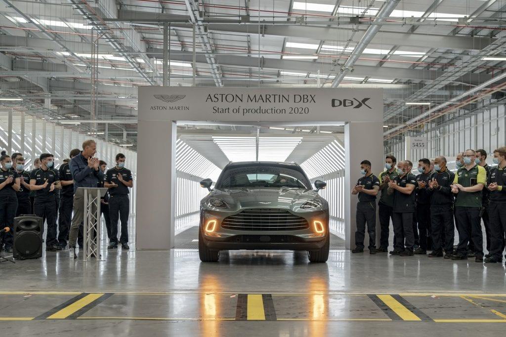 Aston Martin celebrates milestone