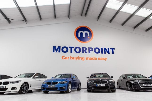 Motorpoint Car Show Room
