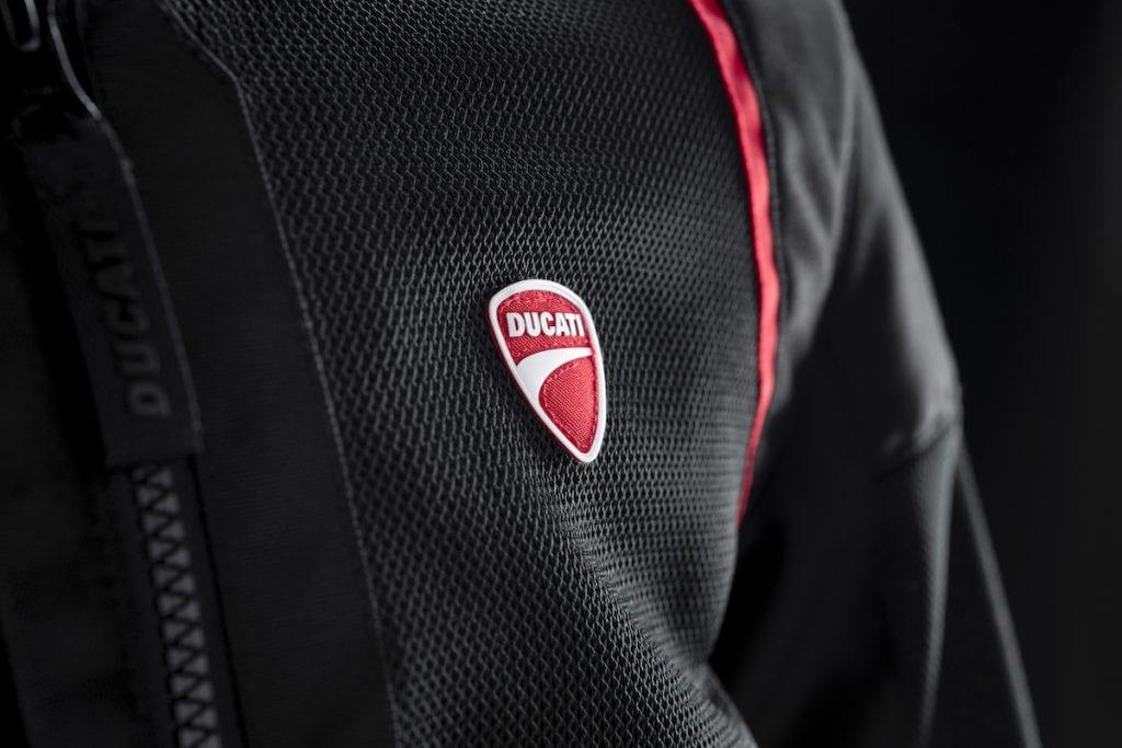 The ventilated Ducati fabric jacket