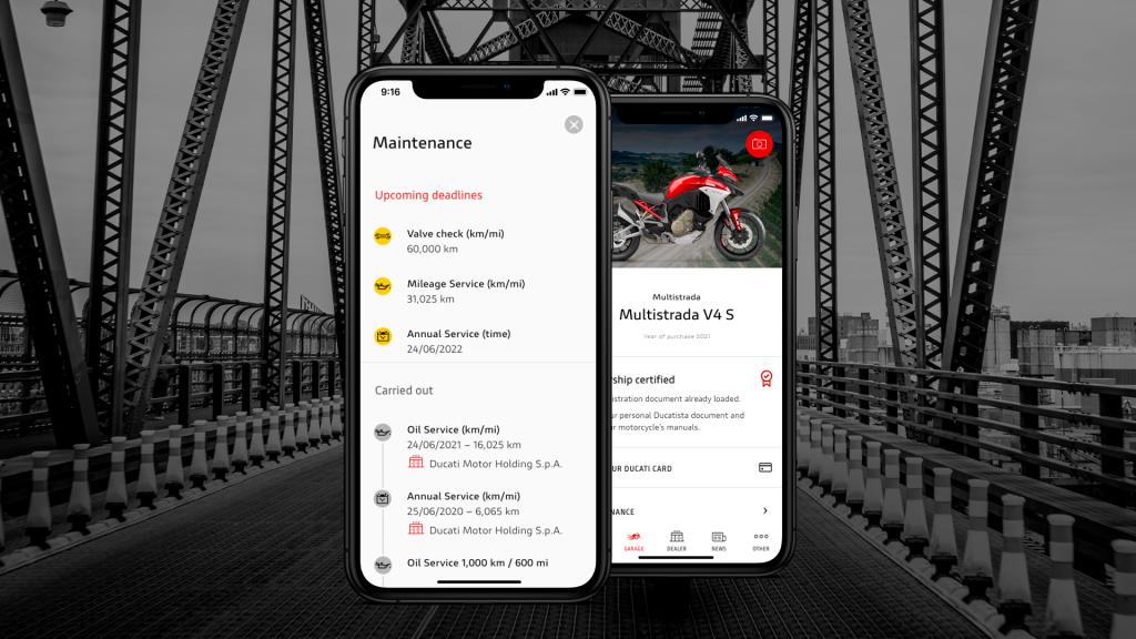 MyDucati App evolves